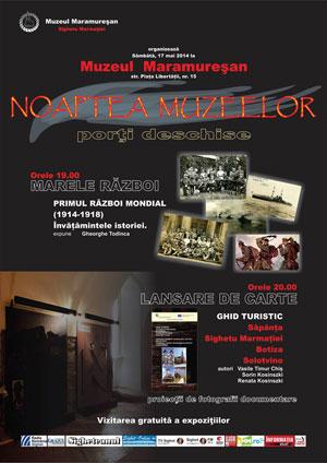 Noaptea Albă a Muzeelor, marcată la Sighet
