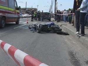 Conducătorul unui scuter, lovit mortal în Borșa de șoferul unei autoutilitare