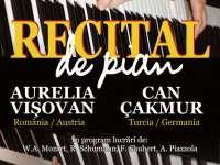 24 MARTIE - Recital de pian în Sighet