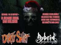"29 Decembrie 2014 - Concert caritabil: ""Moș Crăciun e Rocker!"". Vor concerta Hybrid Symphony și Dirty Shirt"