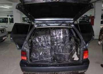 5.600 pachete de țigări au fost confiscate la frontiera cu Ucraina