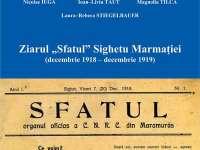 """A fost retipărită colecţia ziarului """"Sfatul"""", apărut la Sighet între decembrie 1918 – decembrie 1919"""