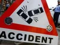 ACCIDENT: Coliziune între două maşini şi o persoană rănită la Hideaga