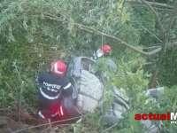 FOTO - Accident cu victime pe şoseaua de centură a Băii Mari. Două persoane au fost transportate la spital
