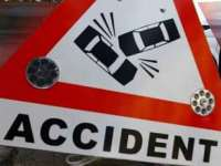 Accident de circulaţie cercetat de poliţişti