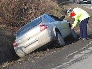 Accident de circulație produs de un tânăr din Maramureş pe raza localității Dealu Ștefăniței