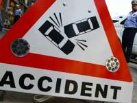 Accident de circulaţie soldat cu rănirea mai multor persoane