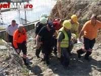 Accident de muncă la stația de epurare din Baia Mare. Trei muncitori au căzut de la 7 metri înălțime