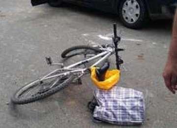 ACCIDENT: Două maşini avariate şi un biciclist rănit ieri la Sighetu Marmaţiei
