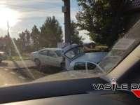 ACCIDENT - Două mașini, făcute praf pe DN 1C la Recea