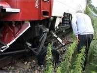 ACCIDENT FEROVIAR - O căruţă a fost spulberată de tren la Petrova