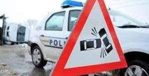 Accident grav cu doi răniți la ieșirea din Budești spre Cavnic