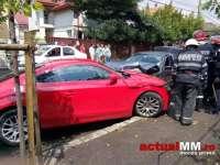 ACCIDENT GRAV - Patru maşini facute PRAF în Baia Mare