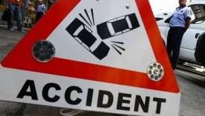 ACCIDENT ÎN LANȚ: Un polițist de frontieră s-a izbit cu mașina de serviciu de autoturismul unui sighetean