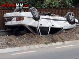 ACCIDENT ÎN LEORDINA: A avut viteza prea mare şi a
