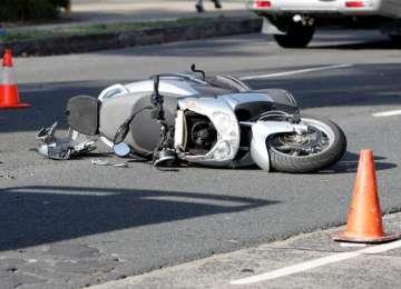 Accident la Budești din cauza alcoolului