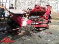 Accident la Hărnicești, investigat de către Poliția rutieră