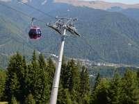 Accident la telescaunul din Munții Bucegi
