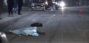 ACCIDENT MORTAL: O femeie şi-a pierdut viaţa în timp ce traversa strada neregulamentar