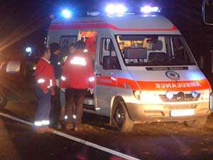 ACCIDENT: O persoana a fost ranita in urma unui eveniment rutier la Vişeu de Sus