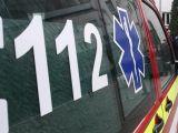 ACCIDENT PE DN18: O autoutilitară a intrat în coliziune cu un podeț