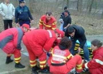 ACCIDENT SIGHET - Un copil de 5 ani a traversat strada în fugă, fiind accidentat