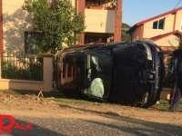 ACCIDENT SPECTACULOS ÎN MARAMUREȘ – Două mașini făcute praf