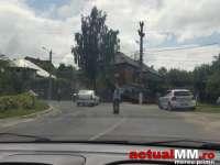 ACCIDENT - Un accident a avut loc la ieșirea din Baia Sprie în urmă cu puțin timp