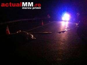 ACCIDENT: Un fost fotograf a fost lovit mortal de o masina in Rozavlea
