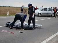 ACCIDENT - Un sătmărean a trecut cu mașina peste un om culcat pe stradă