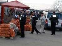 Acţiune a poliţiei în târgul din Sighetu Marmaţiei