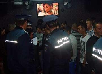 Acţiune a poliţiştilor în cluburile de noapte din Baia Mare