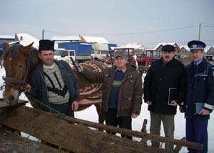 Acţiune a poliţiştilor în târgul din Sighetu Marmației încheiată cu sancţiuni de peste 8000 de lei