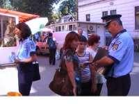 Acţiune de informare a sighetenilor desfăşurată de poliţiştii de prevenire şi de proximitate