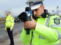 Acţiunea SPEED-MARATHON: Șoferii vitezomani, sancționați de polițiștii maramureșeni