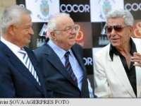 Actorii Ion Dichiseanu şi Alexandru Arșinel și regizorul Sergiu Nicolaescu au primit câte o stea pe Aleea Celebrităților