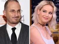 Actrița Jennifer Lawrence, în ipostaze tandre cu regizorul Darren Aronofsky