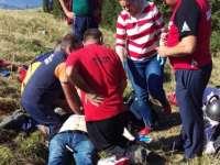 ACTUALIZARE - Parapantist decedat, după ce a căzut în zona pârtiei de schi din Borşa