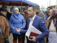 """Adrian Todoran (PMP) – """"Comercianţii trebuie să vină în continuare în Piaţa Izvoare, iar poliţiştii să înceteze abuzul"""""""