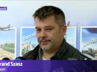 Aeroportul Internațional Cluj - Pasagerul cu numărul un milion a fost întâmpinat cu fanfară și un premiu substanțial