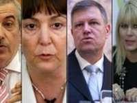 Află ce salarii au prezidenţiabilii Ponta, Macovei, Iohannis, Udrea și Ghişe