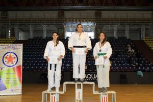 Agentul de poliţie Rebeca Brata a obținut locul II la Campionatul Naţional de JUDO al MAI