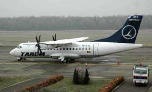 Alertă pe aeroport: Pompieri şi paramedici, chemaţi în ajutor de piloţii cursei Bucureşti - Baia Mare