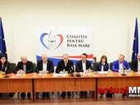 ALIANȚĂ ELECTORALĂ - Coaliția pentru Baia Mare: Trei partide și Forumul Democrat German s-au aliat pentru a-l susține pe Cătălin Cherecheș la Primăria Băii Mari