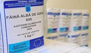 Alimente primite gratuit de la Uniunea Europeana scoase la vânzare în Baia Mare