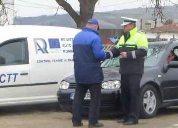 Amenzi aplicate de polițiștii rutieri pe drumurile publice din judeţ