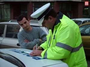 Amenzi de peste 30.000 de lei aplicate în weekend de poliţiştii maramureşeni