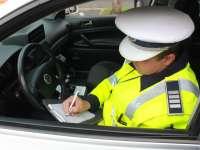 Amenzi în sumă de aproximativ 20.000 de lei aplicate în weekend de poliţiştii maramureşeni