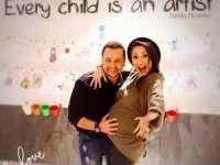 Andra a născut o fetiţă de nota zece