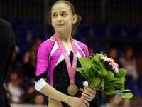 Andreea Munteanu a câștigat medalia de aur la bârnă, în cadrul Europenelor de gimnastică artistică de la Montpellier
